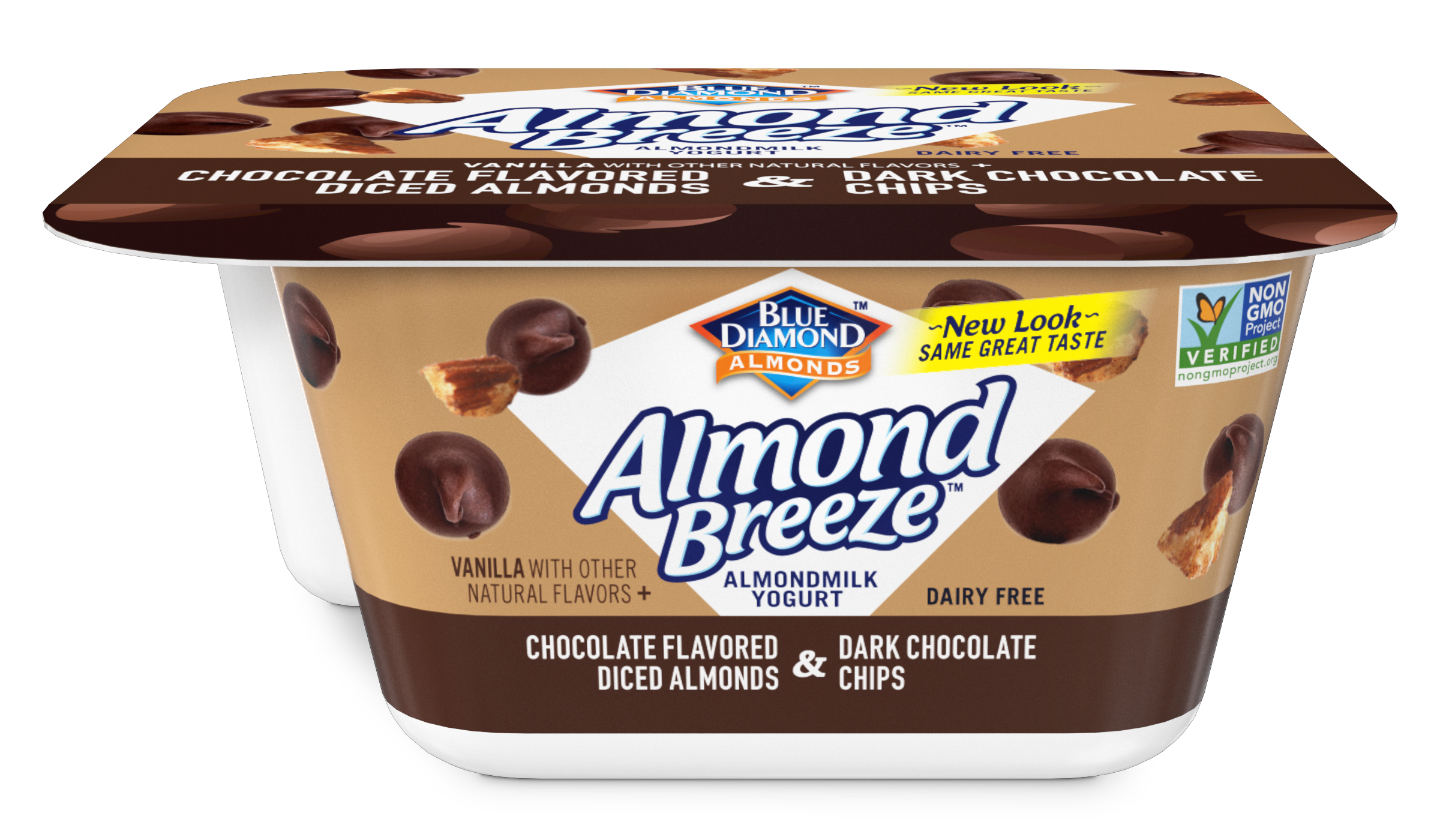 Almondmilk Yogurt & Chocolate Flavored Almonds & Dark Chocolate Chips