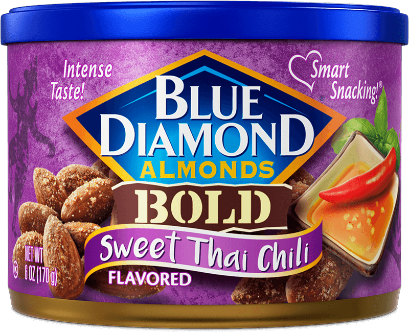 Sweet Thai Chili Flavored Almonds