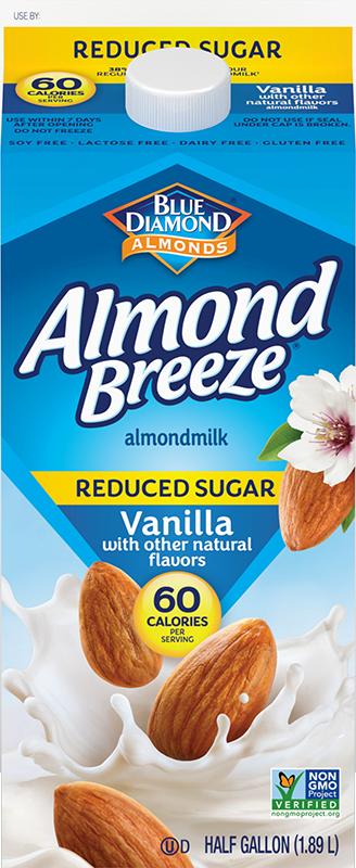 Reduced Sugar Vanilla Almondmilk