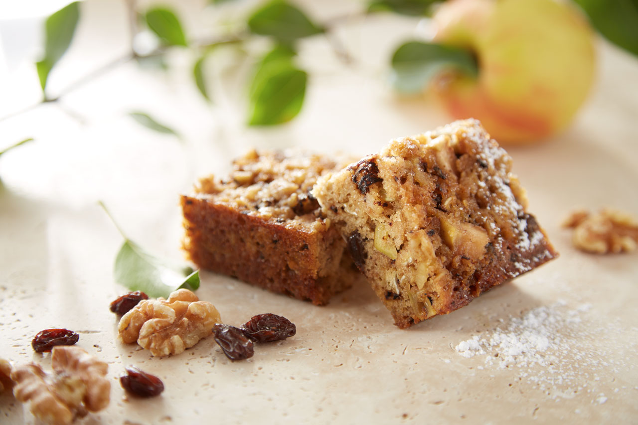 Apple Nut Bars