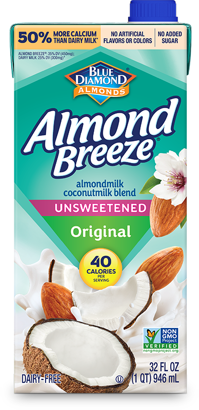 Shelf Stable Coconut Unsweetened Original Almondmilk