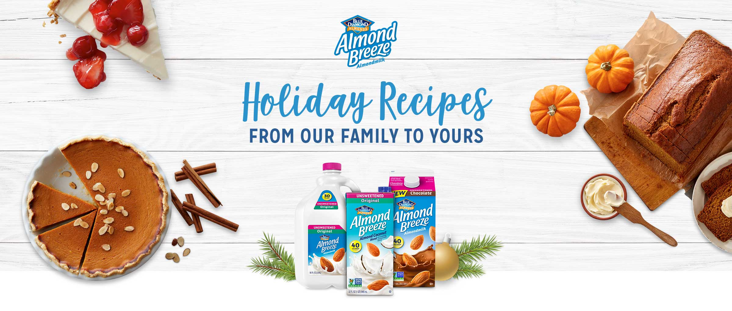 Almond Breeze Holiday Recipes in a Breeze