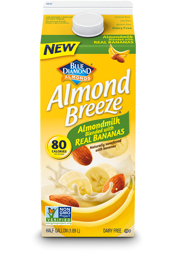 Almond Breeze Almondmilk Blended With Real Bananas