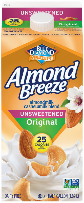 Unsweetened Almond Cashew Milk