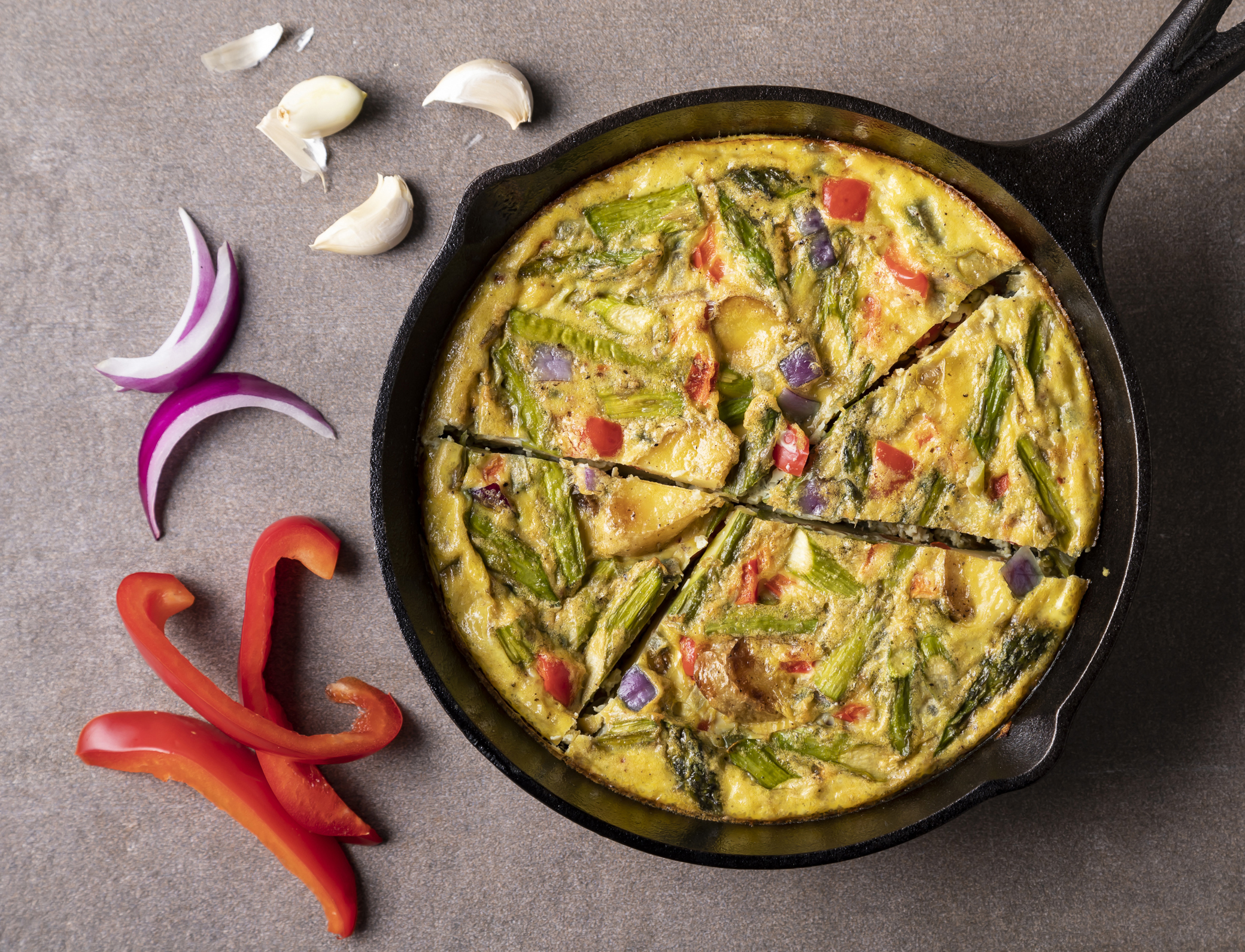 Low-Carb Vegetable Frittata