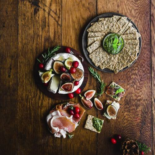 Holiday Snack Spread with Figs
