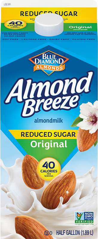 Reduced Sugar Almondmilk