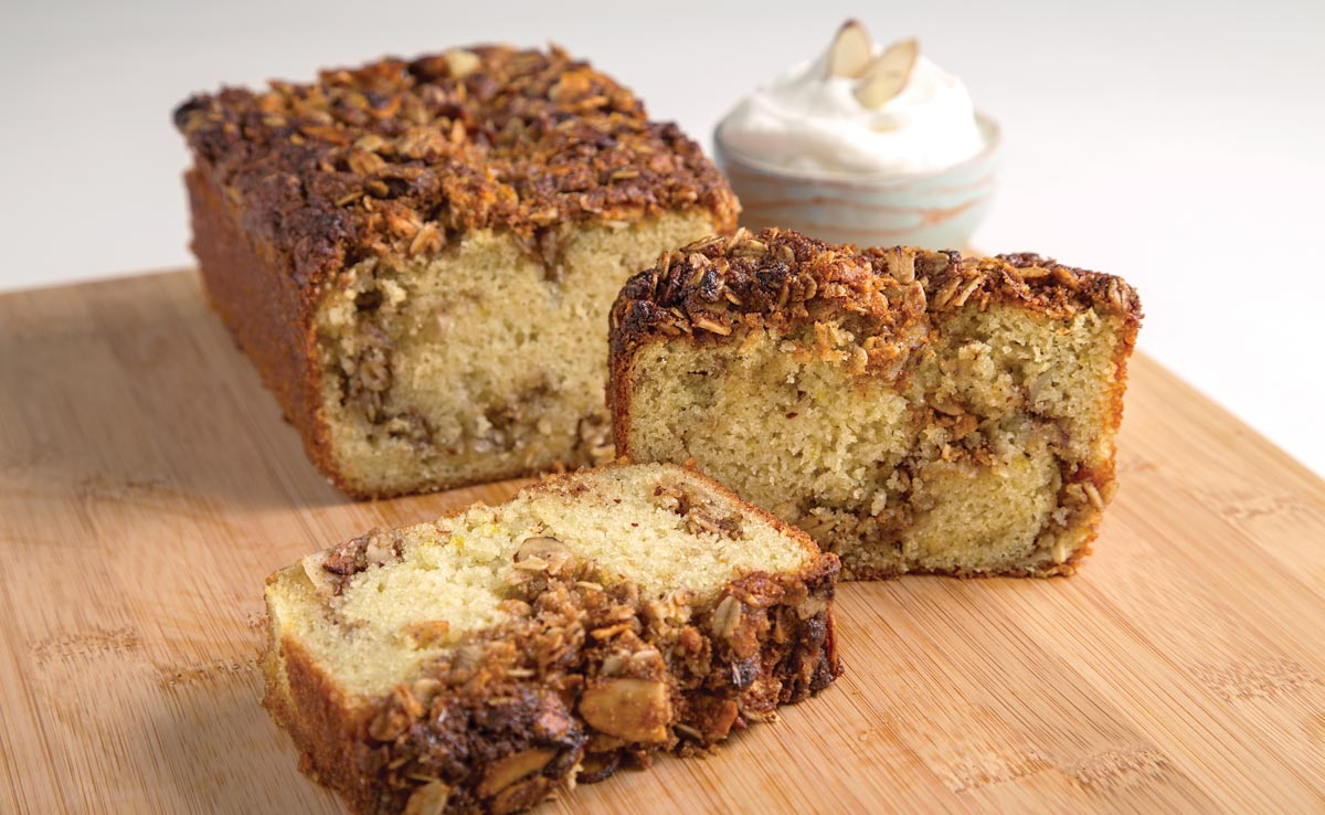 Almond Struesel Coffee Cake