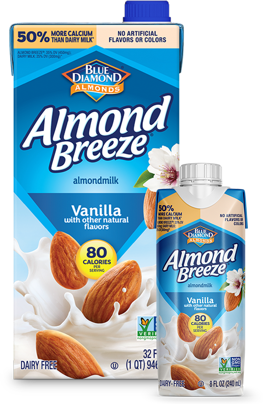 Shelf Stable Vanilla Almondmilk