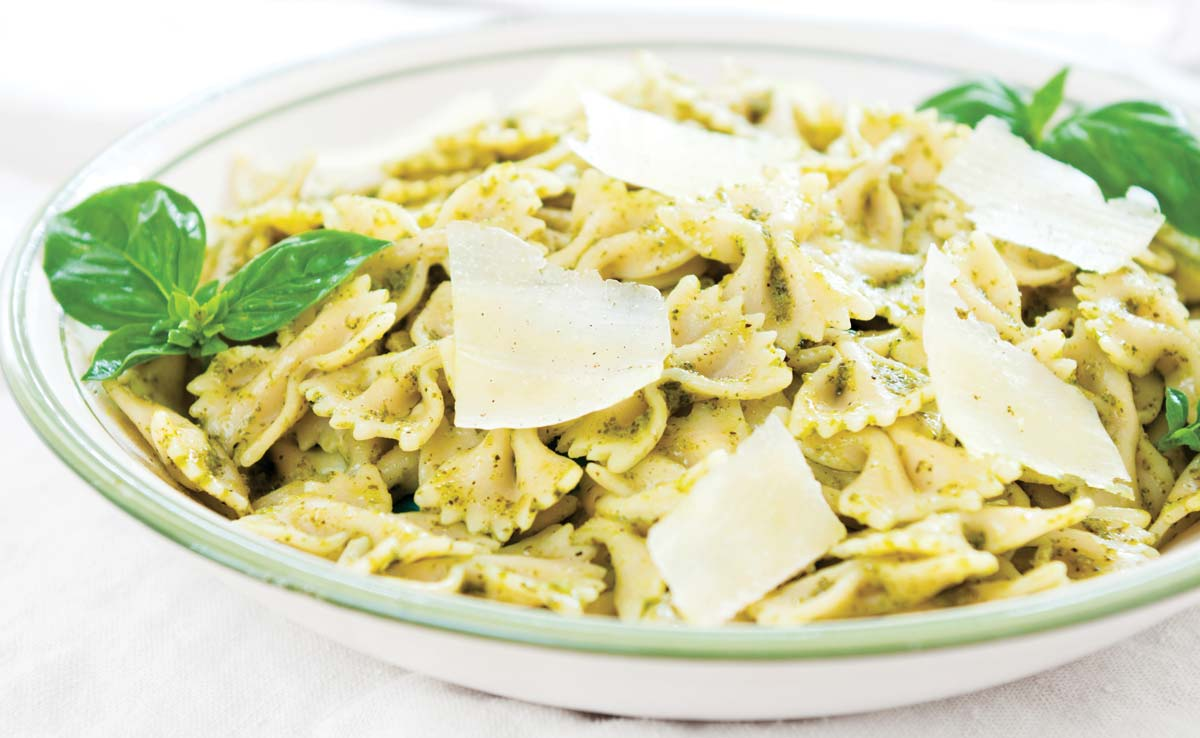 almond-pesto-farfalle