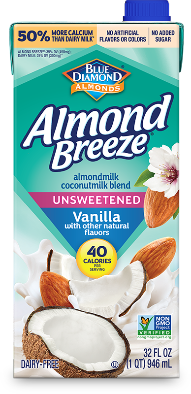 Shelf Stable Coconut Vanilla Unsweetened Almondmilk