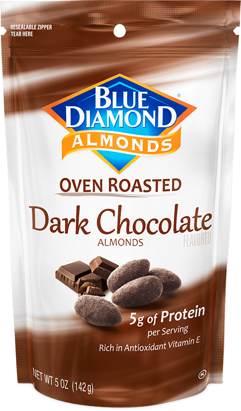 Dark Chocolate Cocoa Dusted Almonds