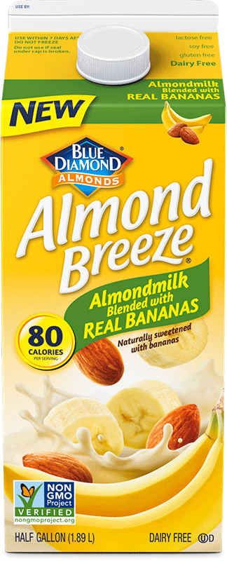 Blended with Real Bananas