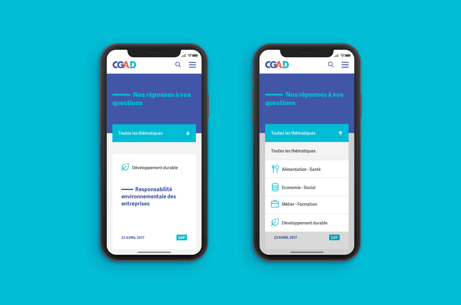 cgad dossiers mobile