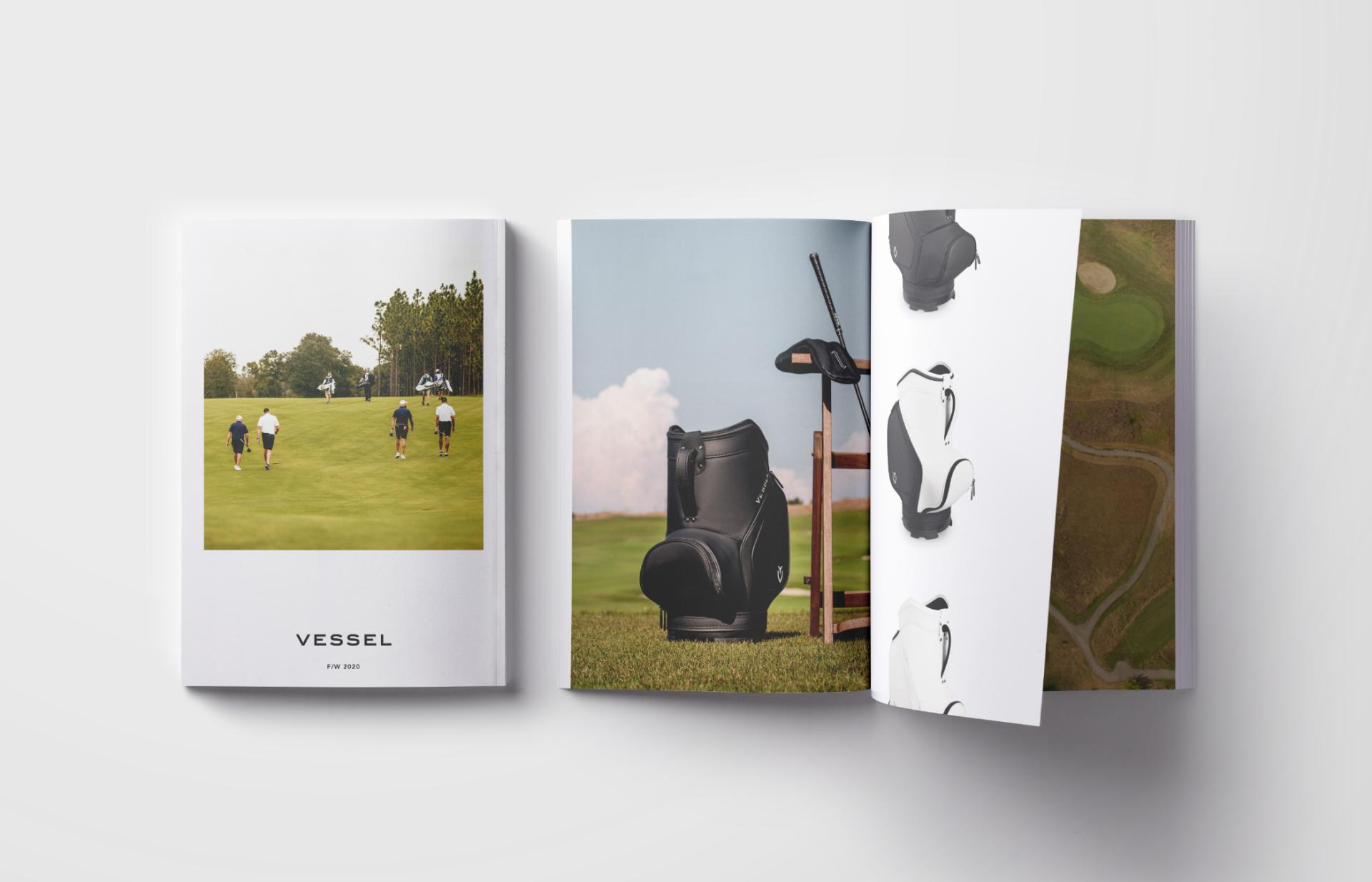 Vessel Brochure Design