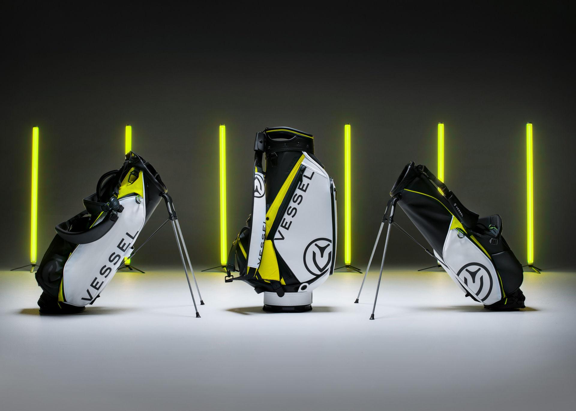 Vessel Premium Golf Bags Brand Development