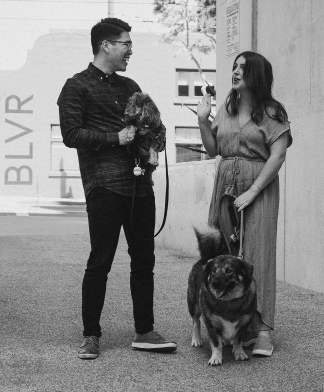 Wayne Cara and Dogs