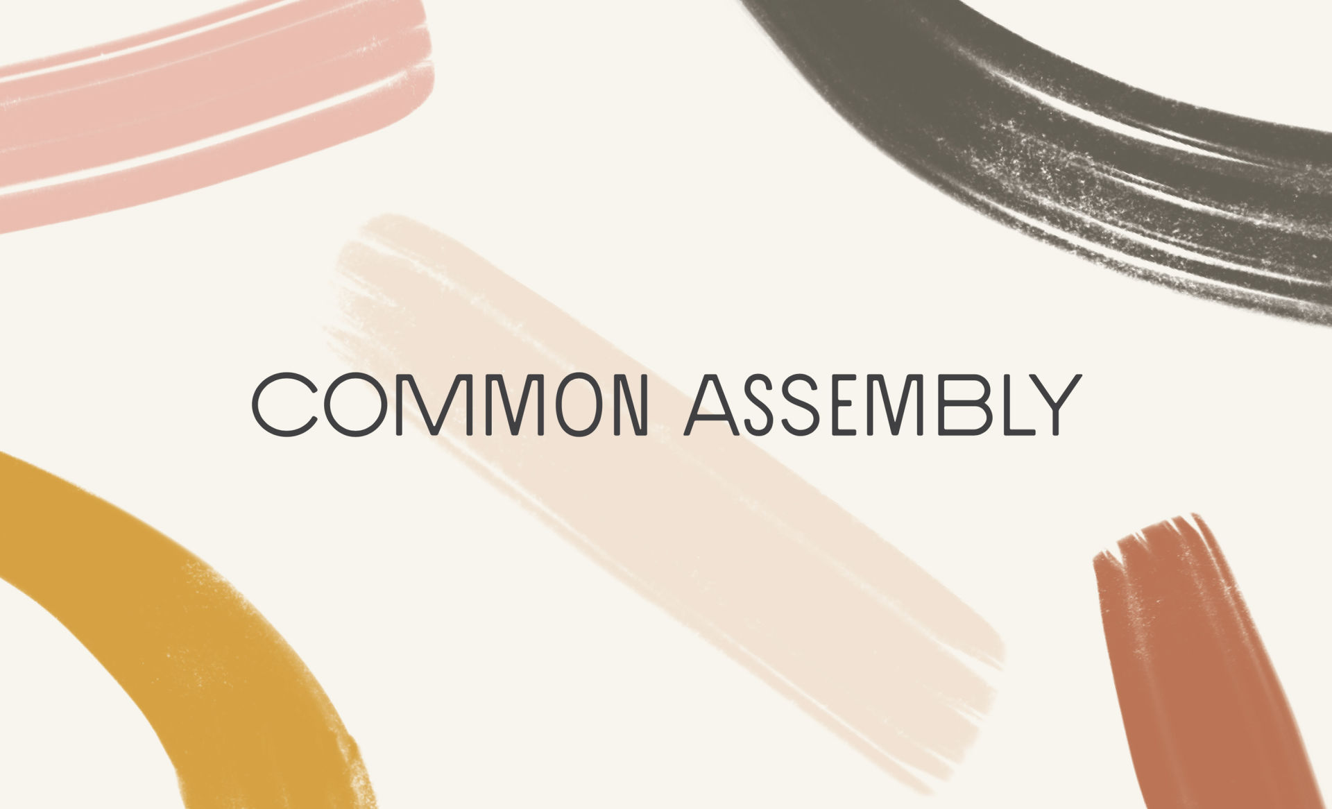 Common Assembly Website Design