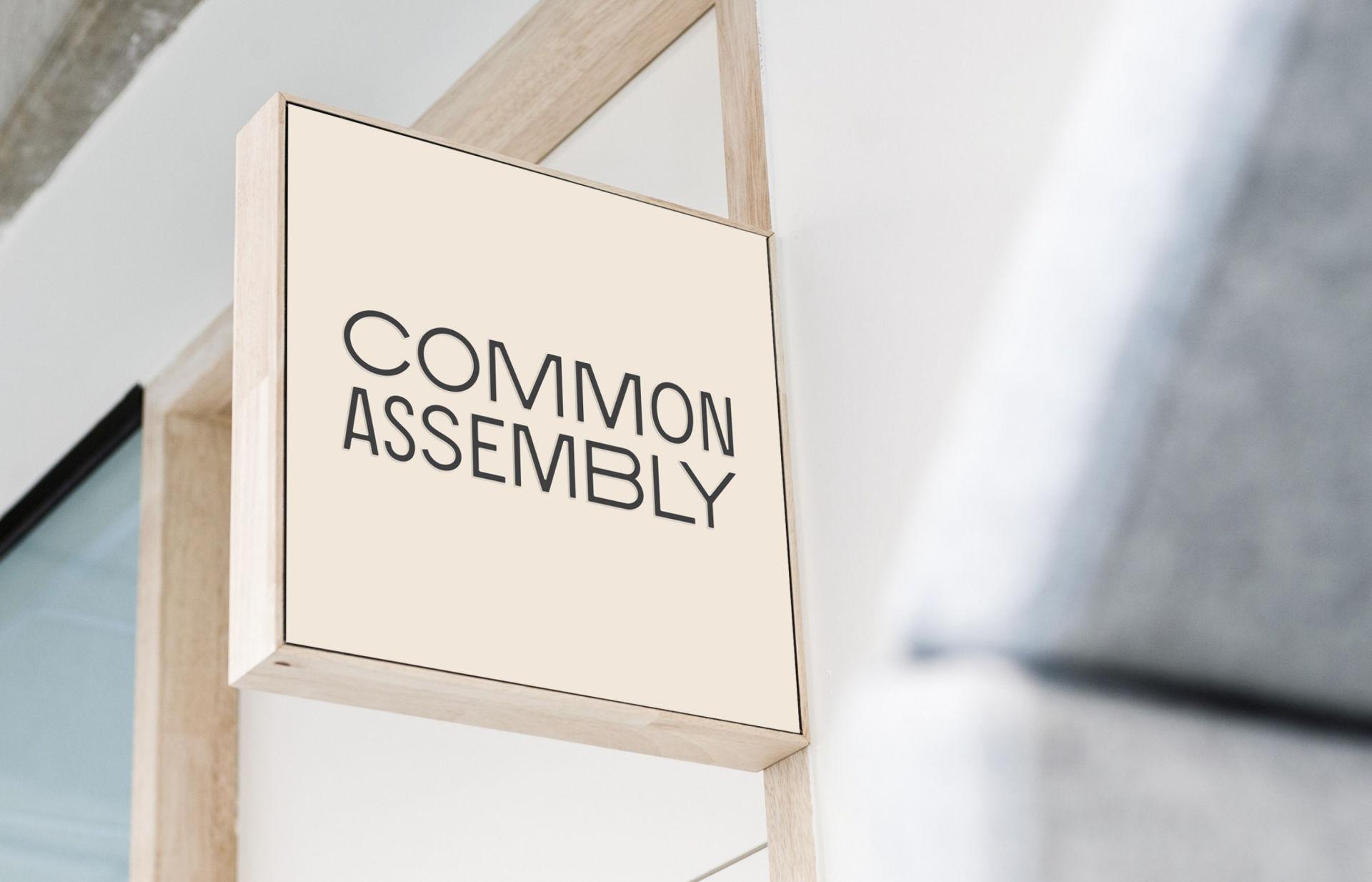 Common Assembly Fashion Brand Logo Design Service