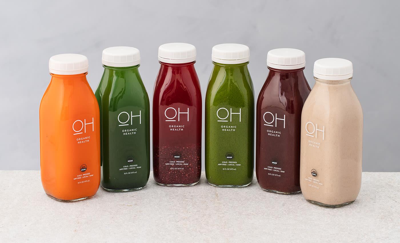 OH Beverage Brand Rebranding