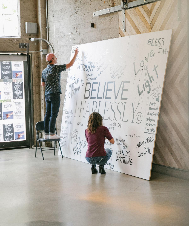 Believe Fearlessly Launch