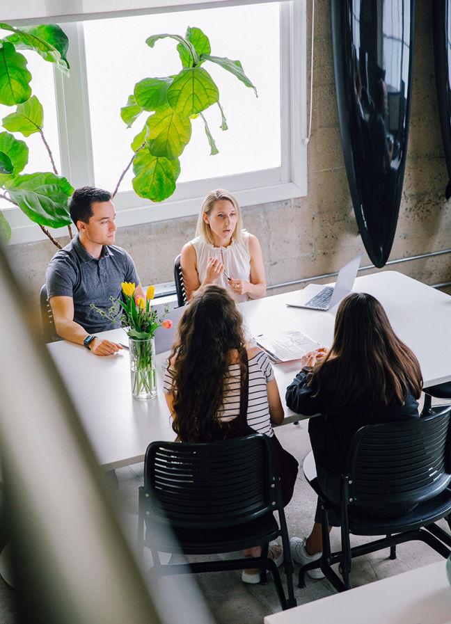 BLVR Office Table Talk