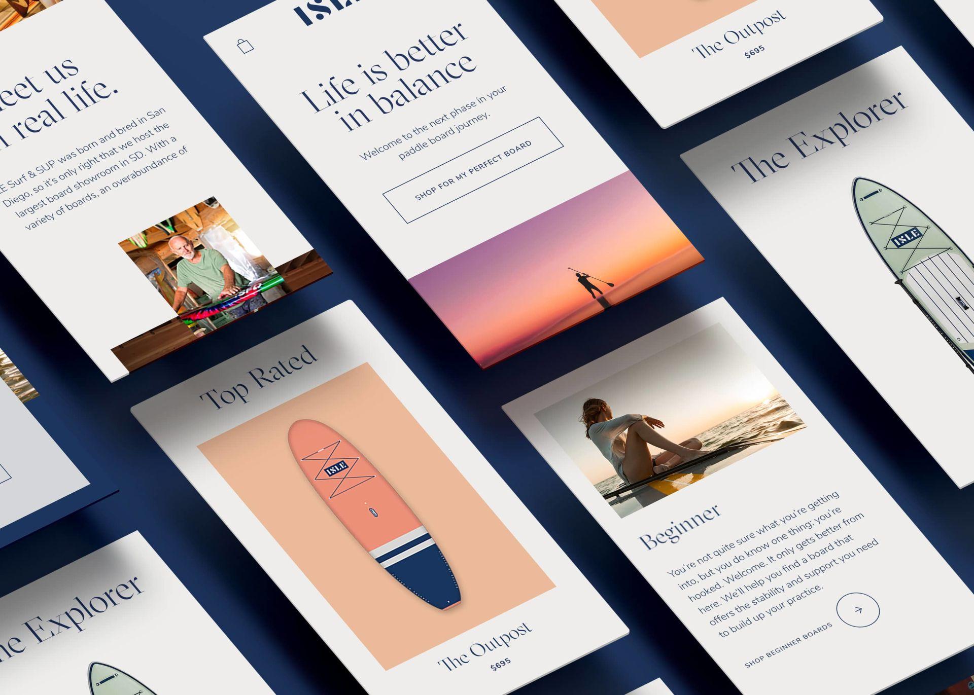 ISLE Website Design Services