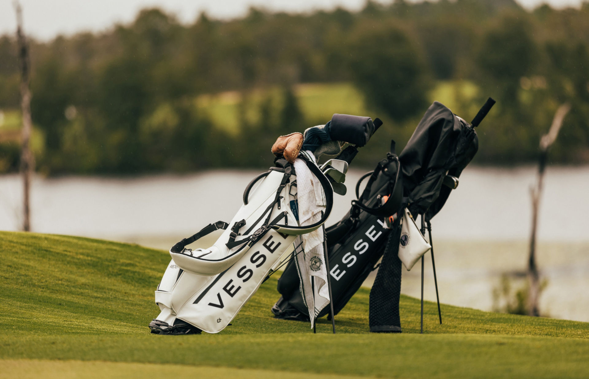 Vessel Golf Bags Lifestyle Photography