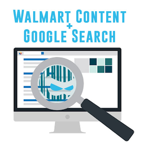 Walmart Content & Google Search: Content vs. Commerce