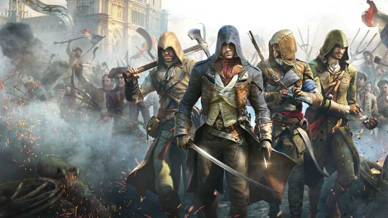 cover image of video game Assassins Creed Unity 01