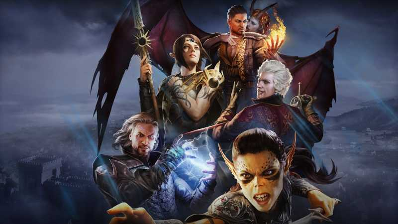 cover image of video game Baldurs Gate 3