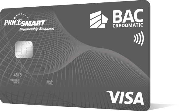 Nueva tarjeta PriceSmart VISA de BAC Credomatic