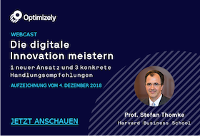 WEBCAST: Die digitale Innovation meistern