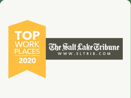 由犹他州商业杂志和盐湖论坛报知所公认的竹子作为顶级工作场所