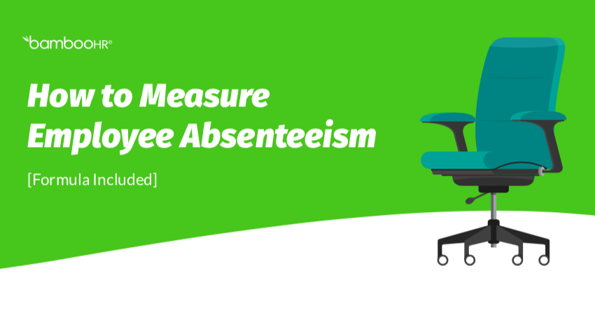 Employee Absenteeism Worksheet [PDF]