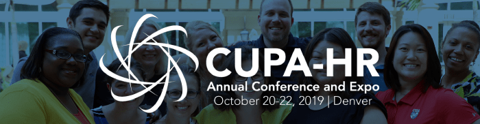 CUPA-HR Annual Conference 2019 image