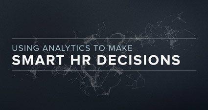 使用分析做出明智的人力资源决策