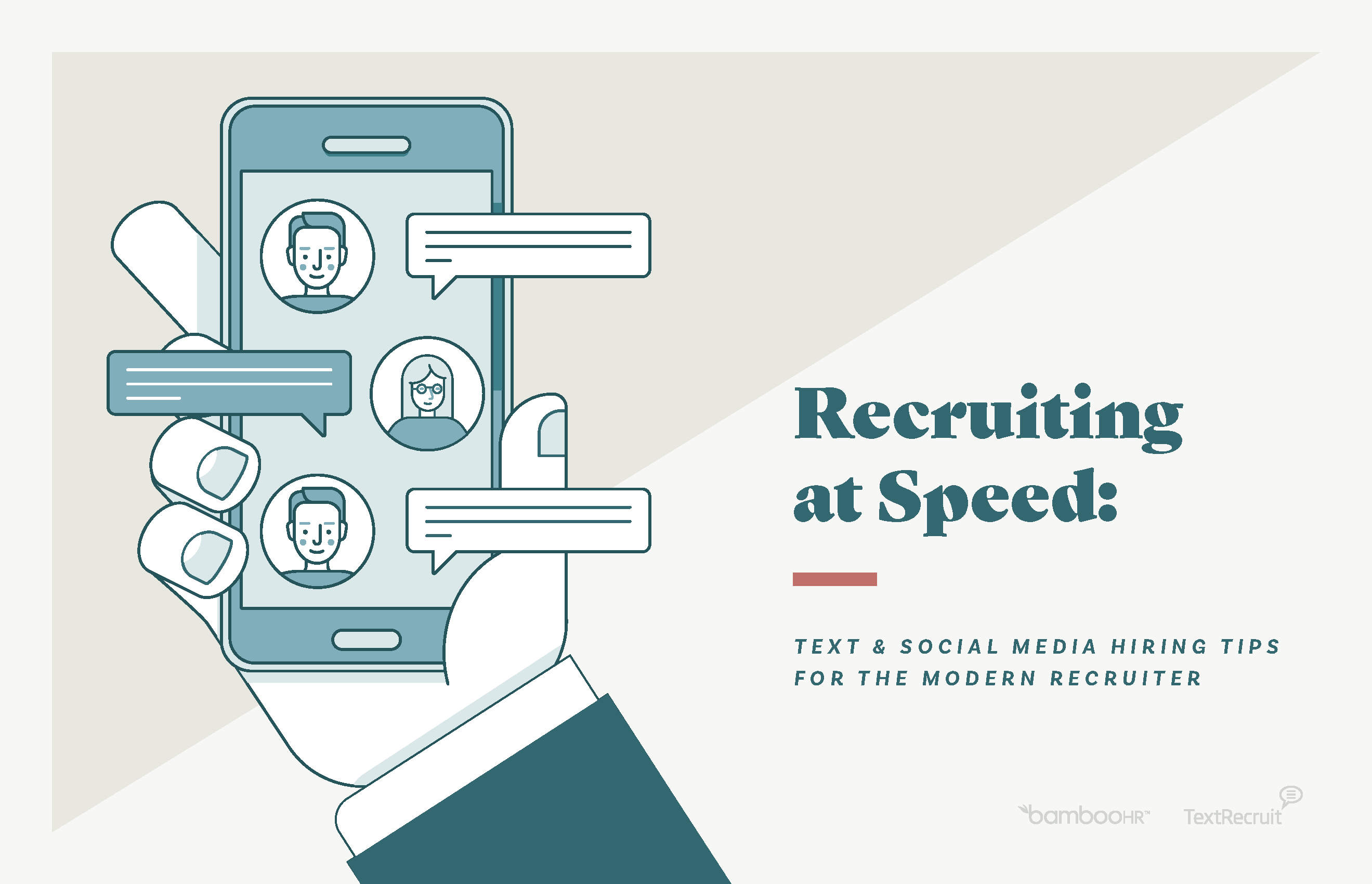 Recruiting at Speed: Text & Social Media Hiring Tips for the Modern Recruiter