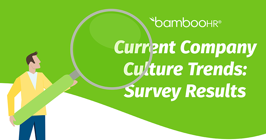 Current Company Culture Trends: Survey Results [Infographic]