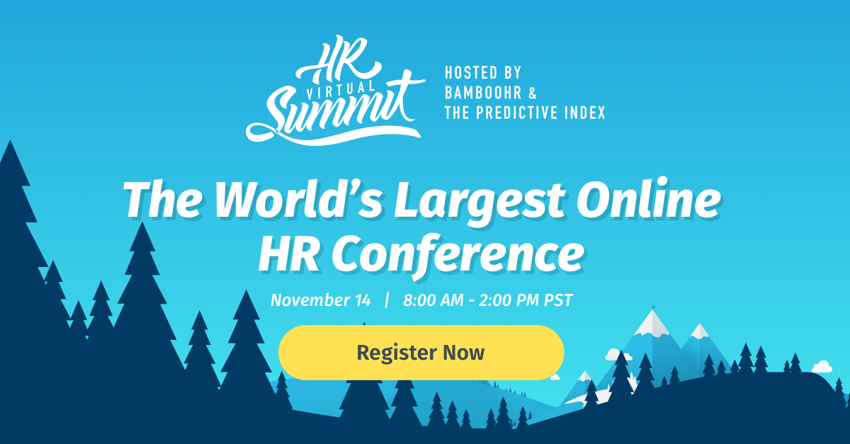 Upcoming event HR Virtual Summit 2019