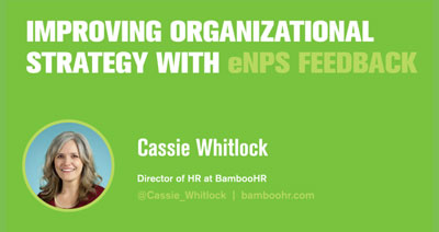 Improving Organizational Strategy with eNPS Feedback