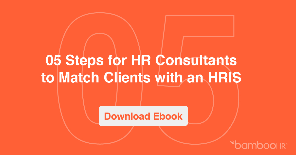 5 Steps for HR Consultants to Match Clients with an HRIS