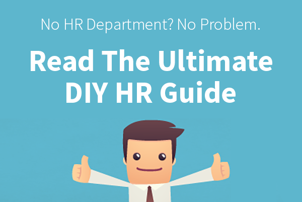 DIY HR - The Ultimate DIY (Do It Yourself) HR Guide
