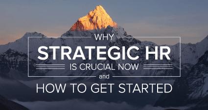 为什么战略人力资源至关重要,如何开始