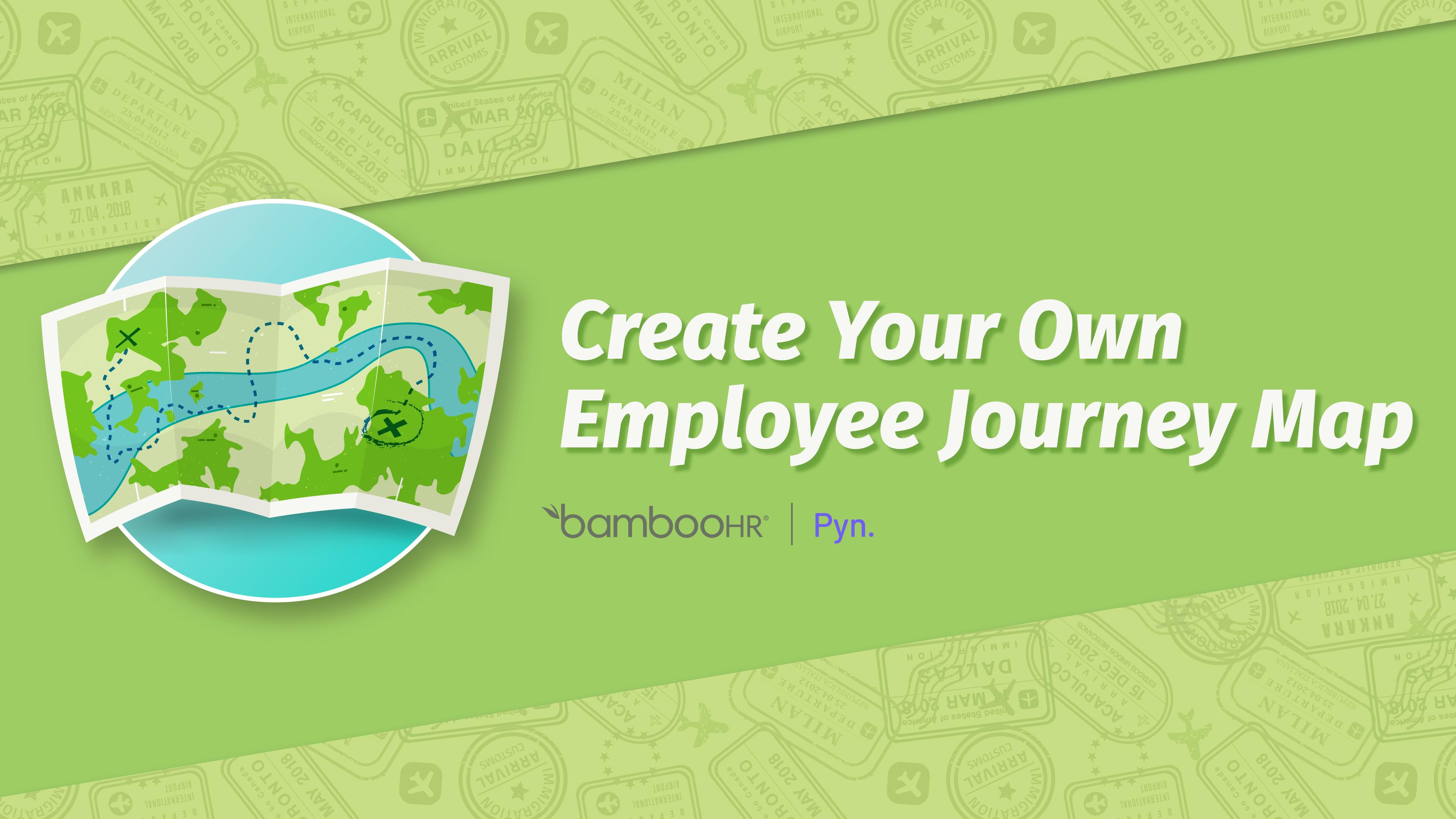 创建自己的员工旅程地图