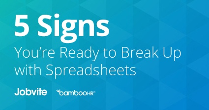 5 Signs You're Ready to Break Up with Spreadsheets