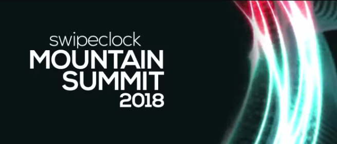 Upcoming event SwipeClock Mountain Summit 2018