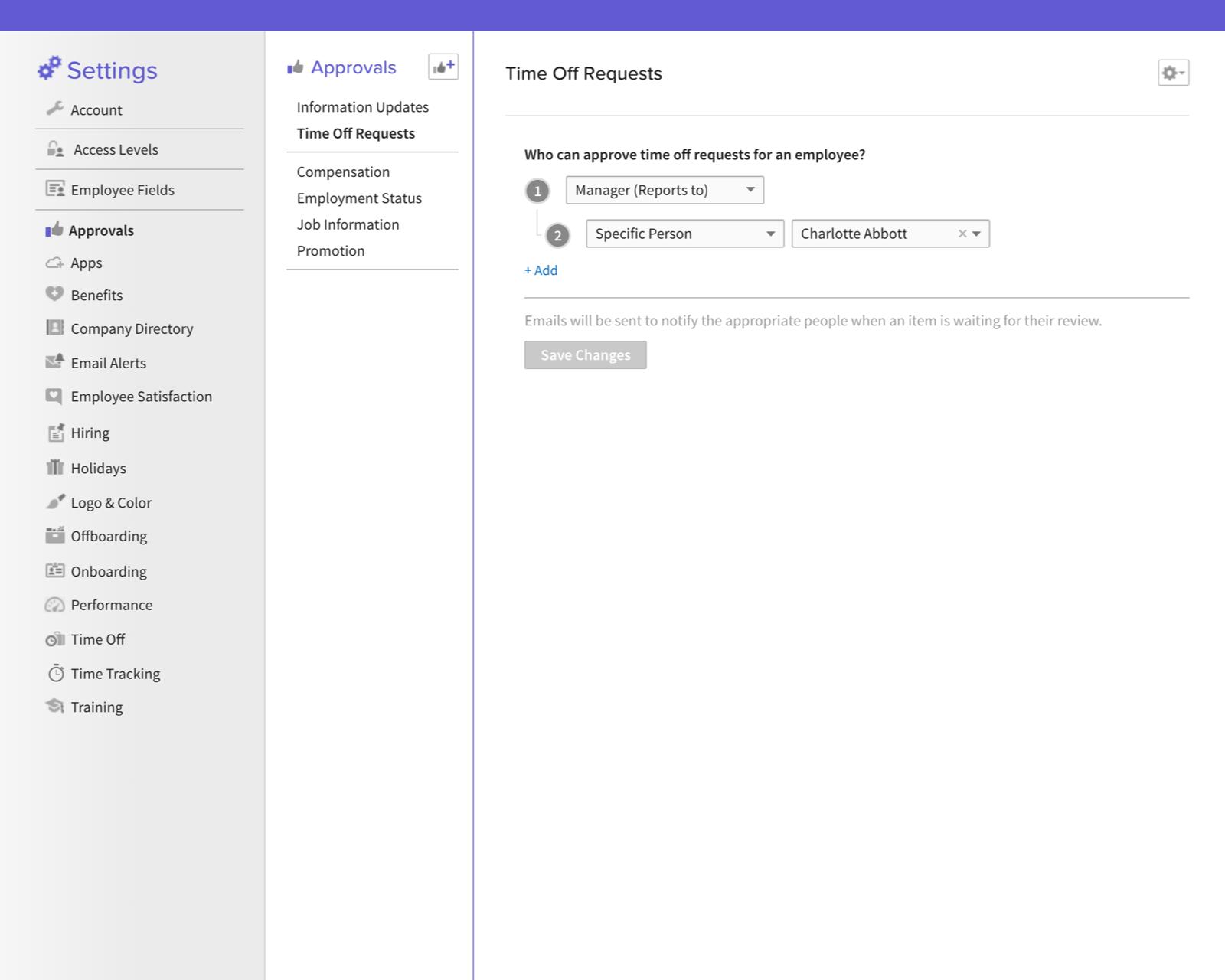 Custom HR Workflows