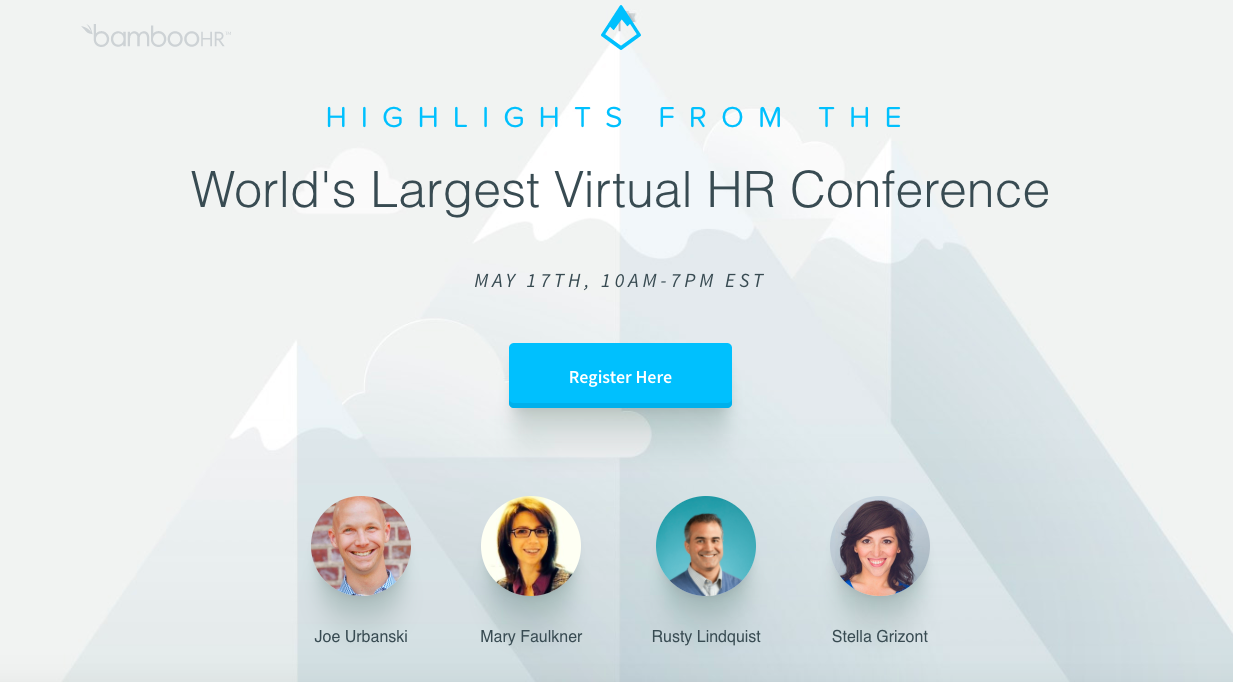 Upcoming event Highlights from the World's Largest Virtual Conference, May 2018