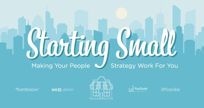 开始小:让您的人民战略为您工作